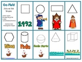 2-d and 3-d Shapes Game