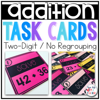 2 digit + 2 digit Addition {No Regrouping}