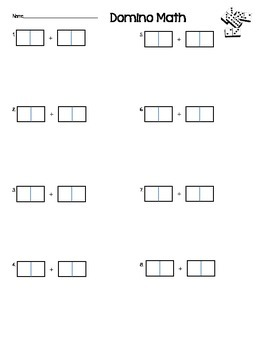 2-digit Addition Domino Activity