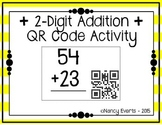2-digit Addition QR Code Activity