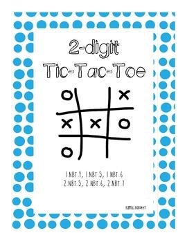 2-digit Addition & Subtraction Tic-Tac-Toe