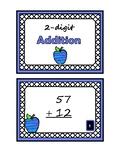 2-digit Addition Task Cards
