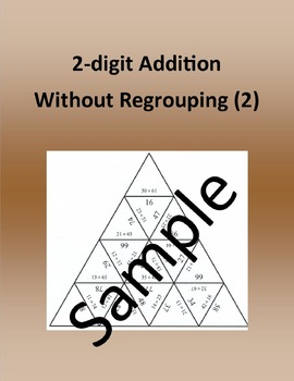2-digit Addition Without Regrouping (2) – Math puzzle