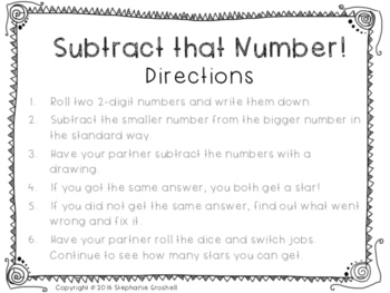 2-digit Addition and Subtraction Centers