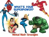 2 digit Addition and Subtraction Super Powers