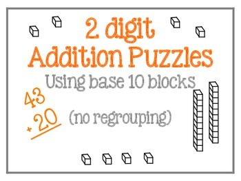 2 digit Addition (no regrouping) 2.NBT.B.5