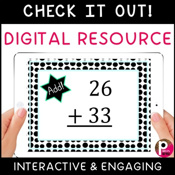 2-Digit Addition without Regrouping digital Boom Cards