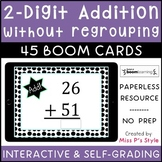 2 Digit Addition without Regrouping digital Boom Cards