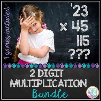 2 digit Multiplication Bundle
