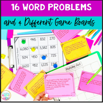 2 digit Multiplication Word Problems Game