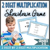 2 digit Multiplication Game - Showdown