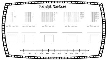 2-digit Number Representation