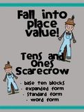 2-digit Place Value Scarecrow Craftivity