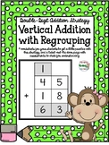 2-digit Vertical Addition with Regrouping