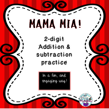 2-digit addition & subtraction ENGAGING activity! PBL and real-life application!