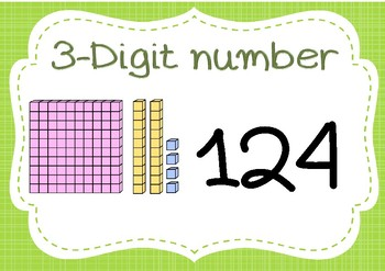 2-digit and 3-digit posters