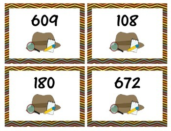 2 digit by 1 digit multiplication word problem task cards