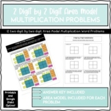 2-digit by 2-digit Area Model Multiplication