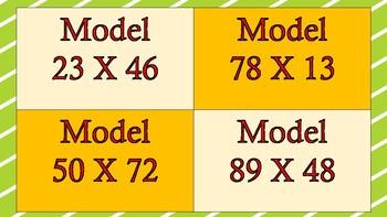 2 digit by 2 digit Task Cards