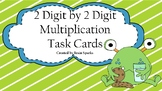 2 digit by 2 digit Task Cards