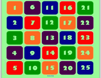 2 digit by 2 digit multiplication SMART Board Game