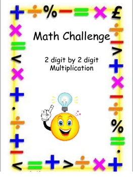 2 digit multiplication Review Activity