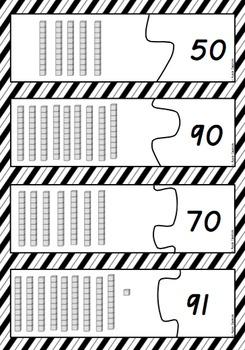 2 digit number jigsaw