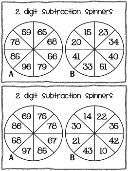 graphic regarding Subtraction With Regrouping Games Printable called 2 digit subtraction recreation - devoid of regrouping