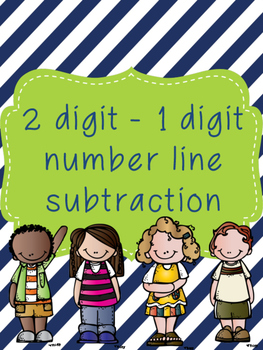2 digit to 1 digit Subtraction