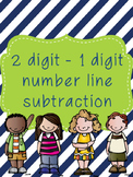 2 digit to 1 digit Subtraction