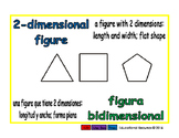 2-dimensional figure/figura dimensional geom 1-way blue/verde