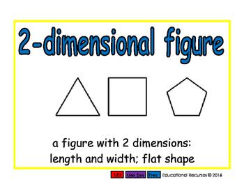2-dimensional figure/figura dimensional geom 2-way blue/verde