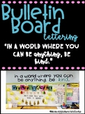 In a world where you can be anything, be kind - 2 fonts to choose from