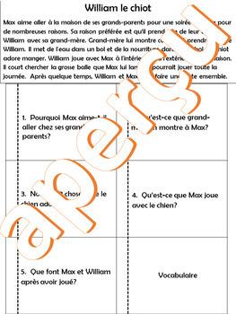 2 histoires avec questions de compréhension - Cahier interactif