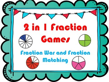 2 in 1 Fraction Games