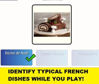 French Food SMARTboard Bingo and SMARTboard Food Selector; France, Culinary