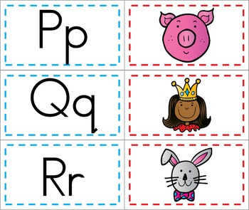 2 in 1 – Letter and Sound Picture Mats - Two Activities in One Download!