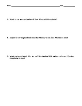 2-in-1: Piano Lesson Act 1 and Act 2 Collaborative Worksheet