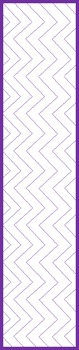 2-inch Binder Spine Chevron Template