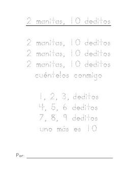 2 manitos 10 deditos
