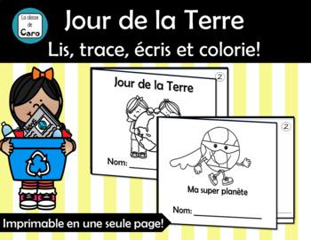 2 mini-livres - JOUR DE LA TERRE