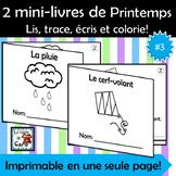 2 petits livres - Thème Printemps #3 La pluie - Le cerf-volant