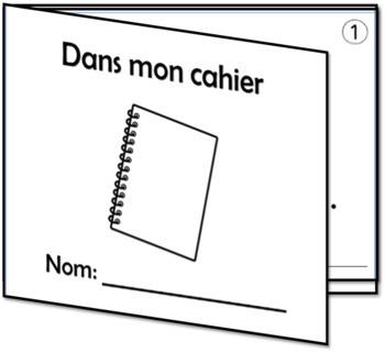 2 mini-livres et cartes-éclair - Lis, trace, écris et colorie