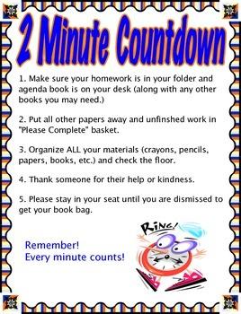 2 minute countdown