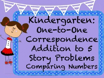 2 months of Kinder Math: One to One Correspondence, Additi