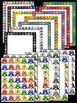 OWL MEGA BUNDLE! - 2 Favorites! Clip Art, Frames, Borders and Backgrounds
