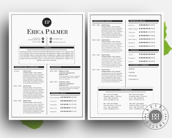 Pages Word Resume Cover Letter Business Card Pack Templates By - Pages business card template