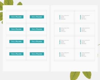Creative resume pack template Word