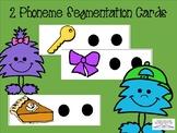 2 phoneme segmentation cards