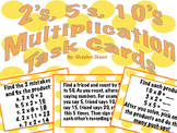 Multiplication Task & Activity Cards (2's, 5's and 10's)